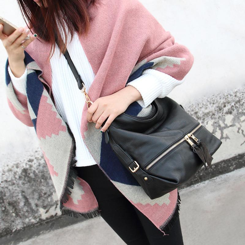 Al90037. Ladies′ Handbag Handbags Designer Handbags Fashion Handbag Leather Handbags Women Bag Shoulder Bag Cow Leather