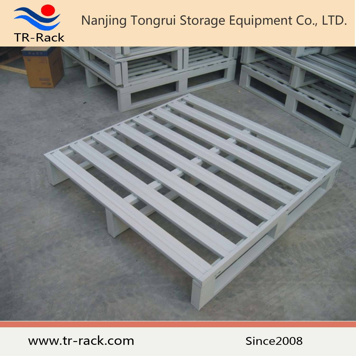 Customized Warehouse Storage Heavy Duty Steel Metal Pallet
