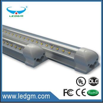 2017 UL Dlc Listed/Approved Frosted/Clear Cover 18W 1200mm 4FT/4feet 40W 2.4m 8FT/8feet T8 LED Tube Light/Bulbs