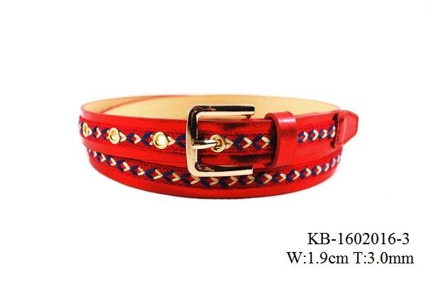 New Fashion Women PU Belt (KB-1602016-3)