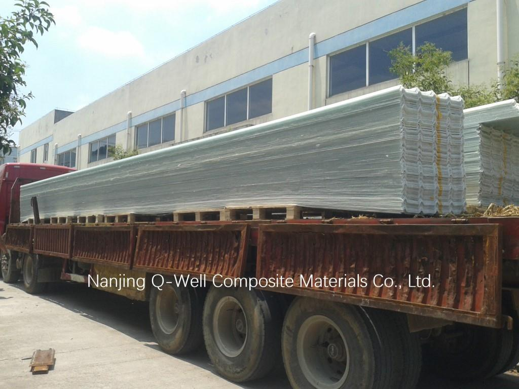 FRP Panel Corrugated Fiberglass/Fiber Glass Roofing Panels 171001