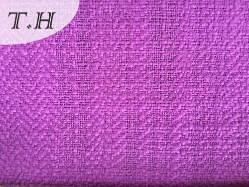 2017 Corrugated Woven Linen Fabric for Chair and Furniture