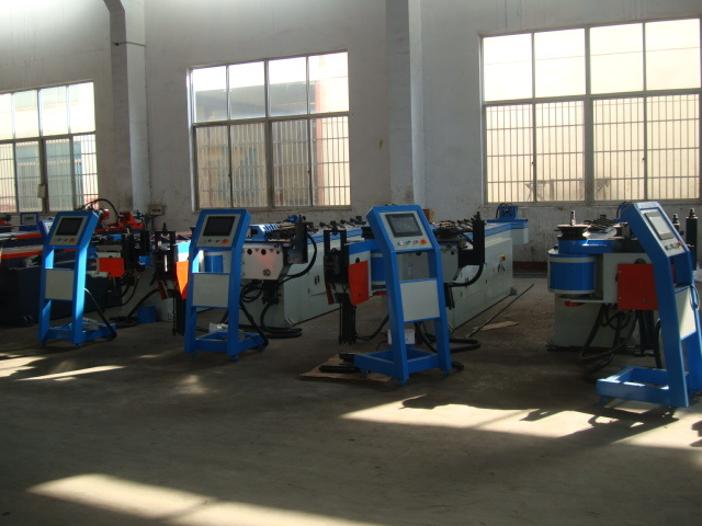 Hydraulic Carbon Steel Tube Bending Machine (GM-SB-76NCB)