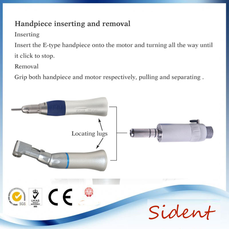 Dental Low Speed Handpiece Kit Ex203c 2hole