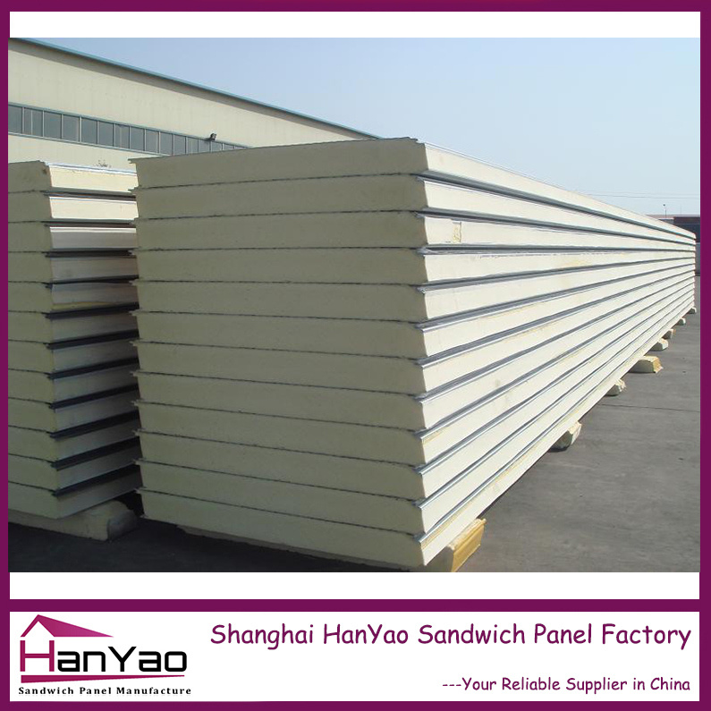 High Quality Color Steel PU Sandwich Panel for Cold Room and Refrigerator Panel