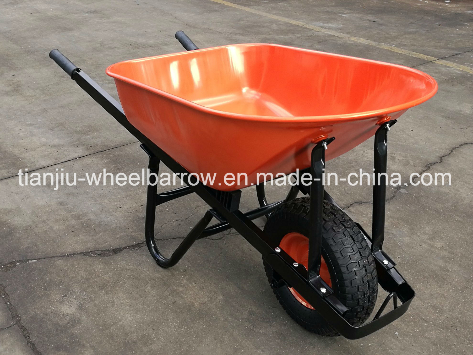 Square Handle for Wheelbarrow/Wheel Barrow Wb8601