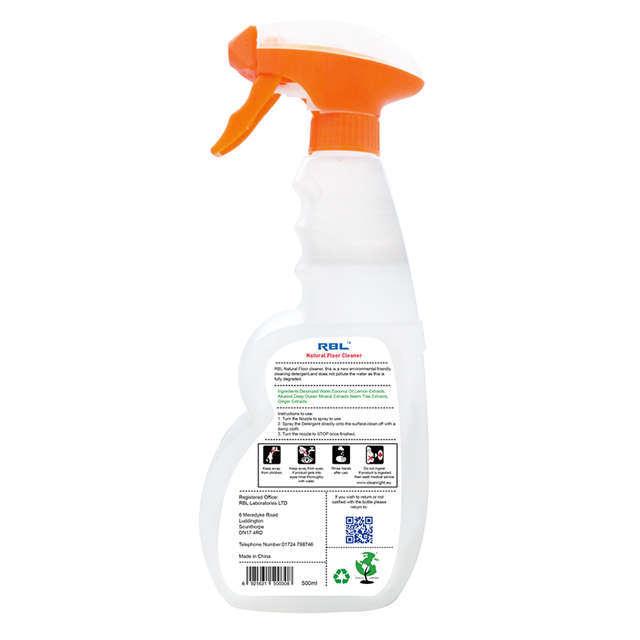 Rbl Natural Floor Cleaner 500ml Detergent Bio-Degreaser