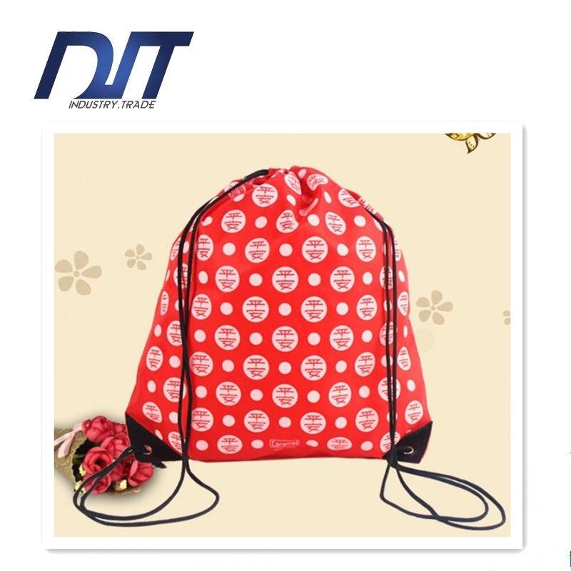 Oxford Cloth Bag Customized Printing Rope Non Woven Shopping Bag