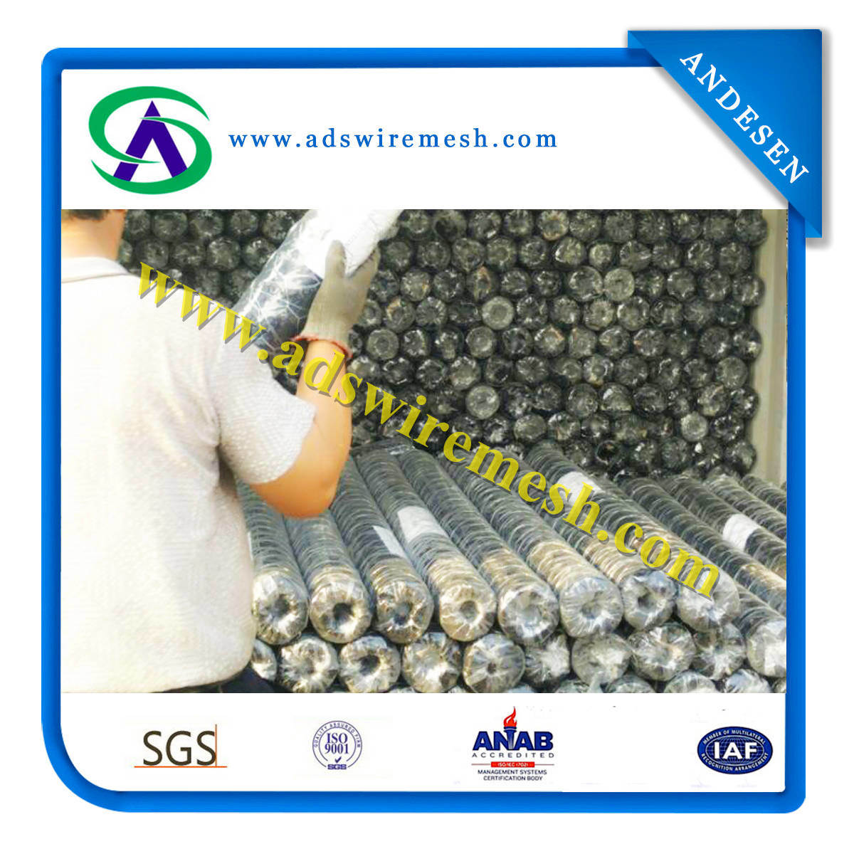 Galvanized and PVC Coated Hexagonal Wire Mesh