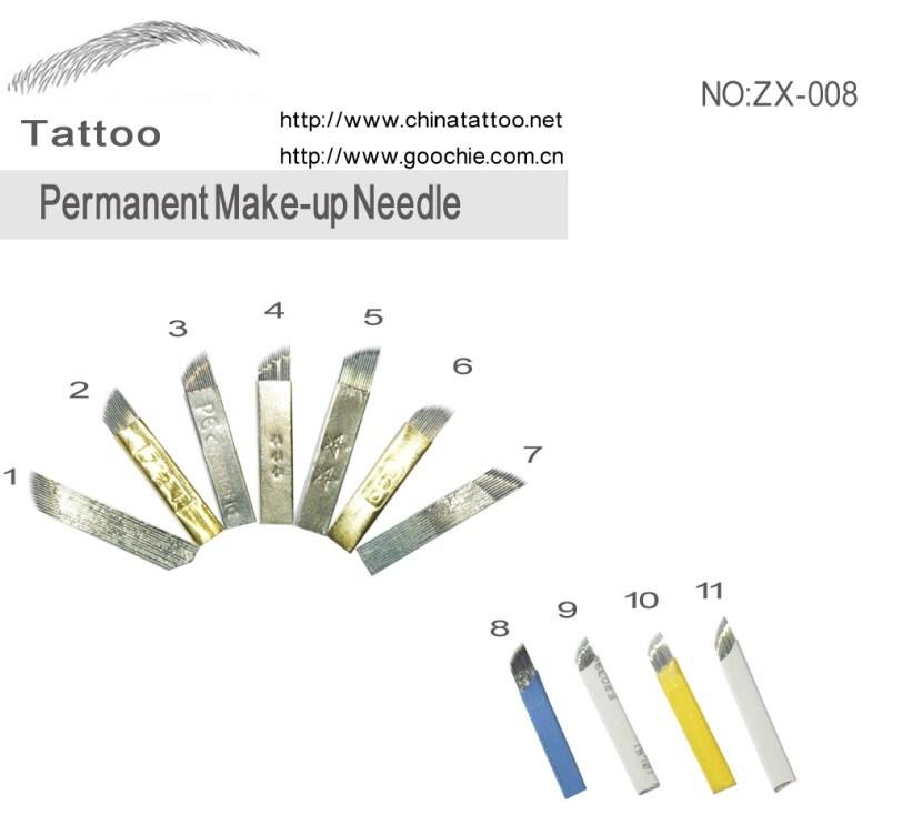 Eyebrow Tattoo Permanent Makeup Blade