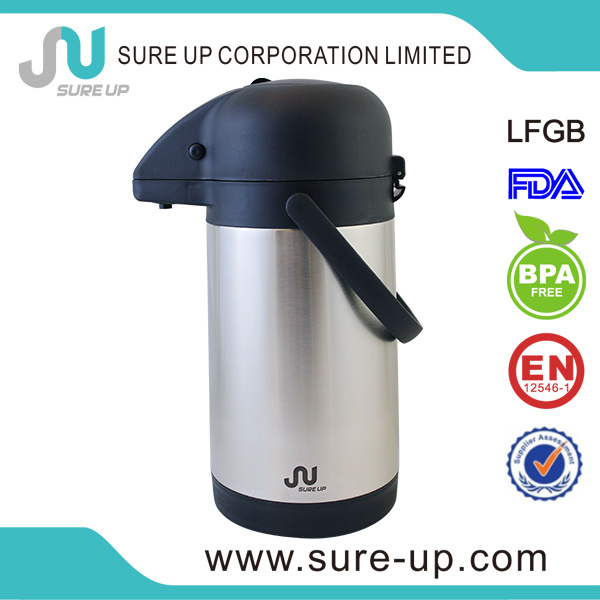 Durable Ss Stainless Steel Vacuum Coffee Pot (ASUA)