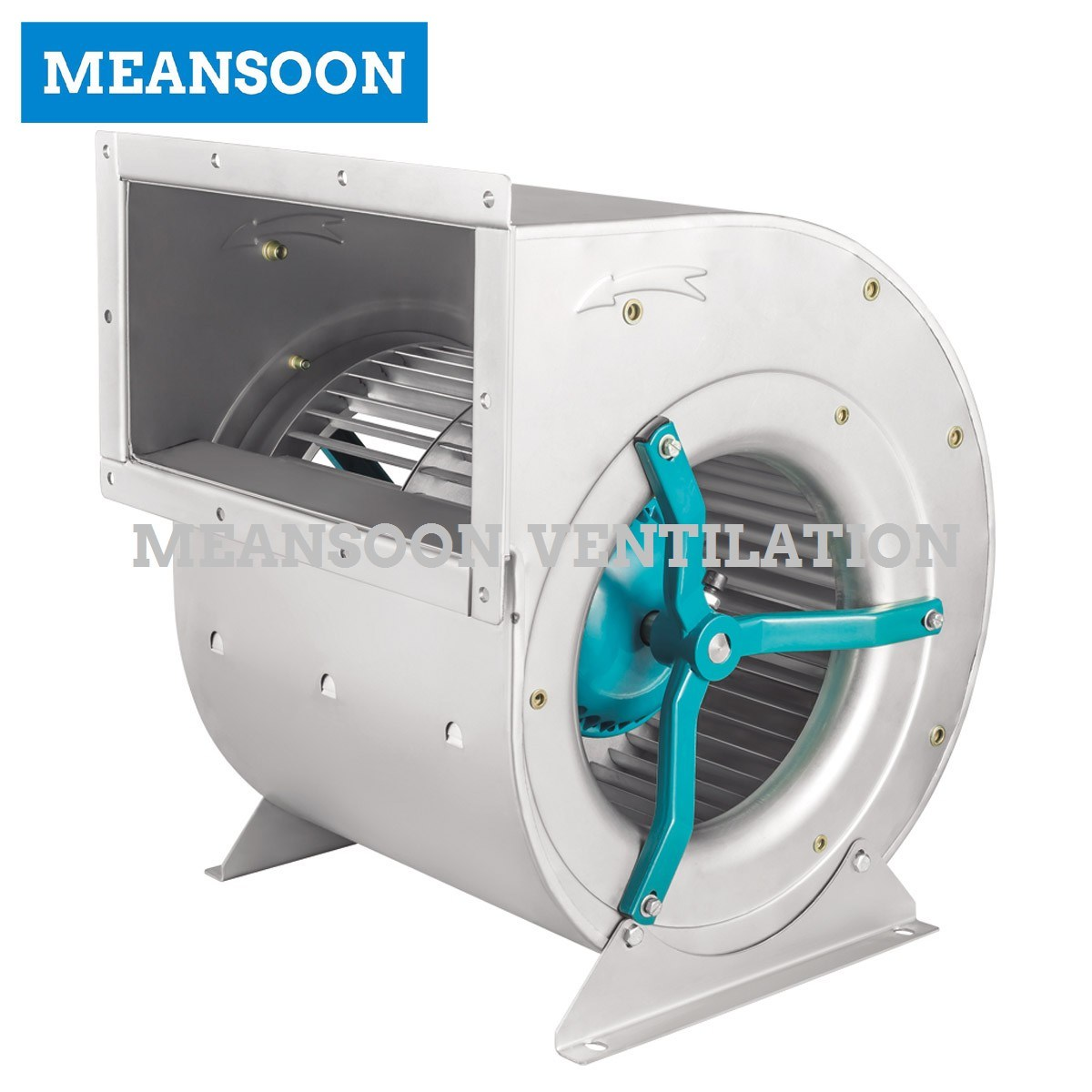 Fd250 AC Double Inlet Forward Curved Centrifugal Fan for Exhaust Ventilation