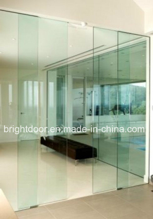 China Frameless Glass Door System All Glass Doors