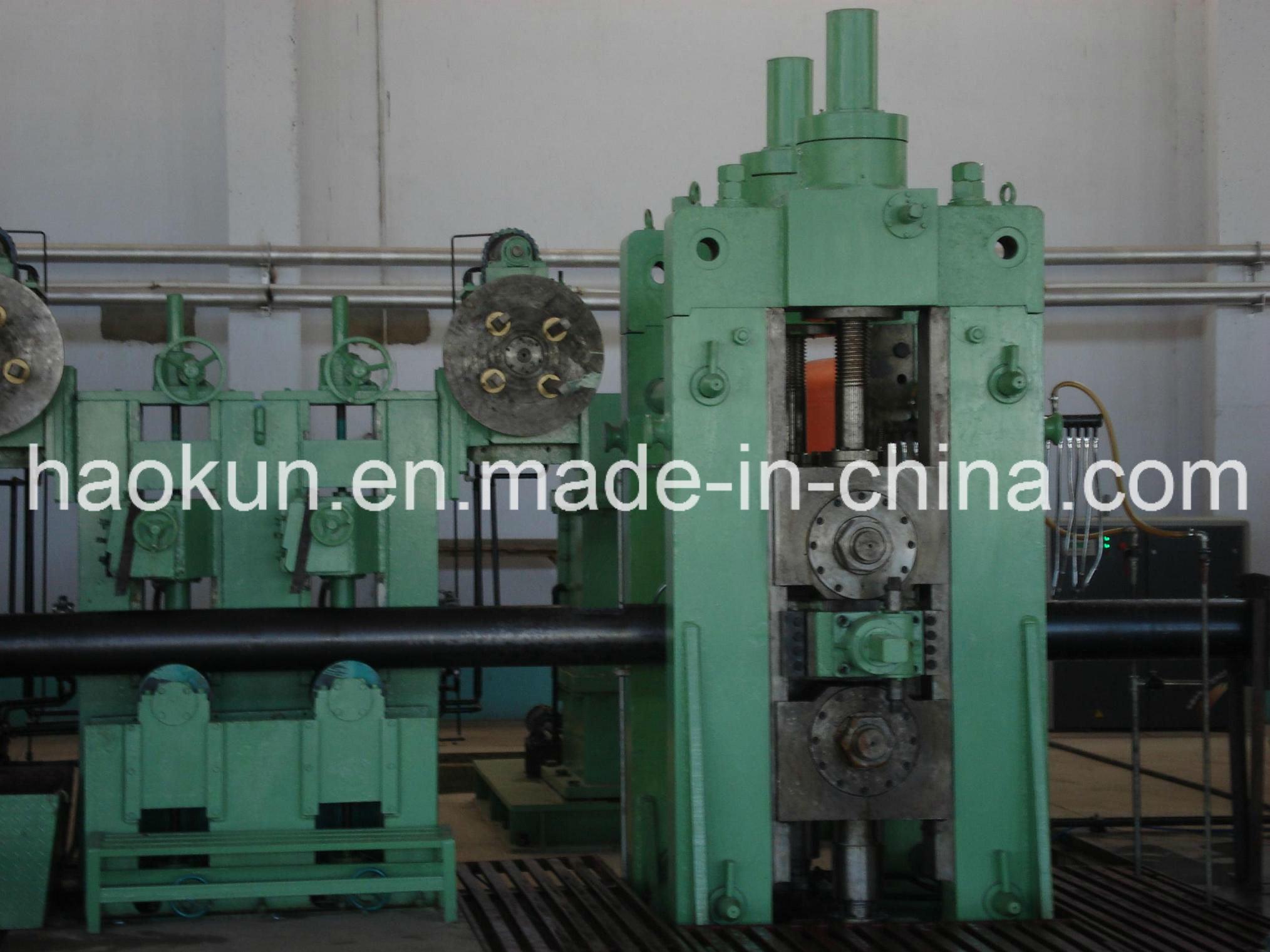 ERW Pipe Making Machine Longitudinal Welded Pipe Line