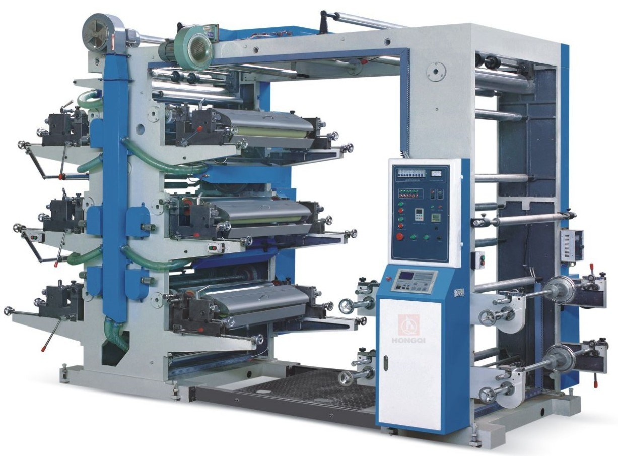 China Used 6 Color Offset Flexo Printing Machine Photos ...