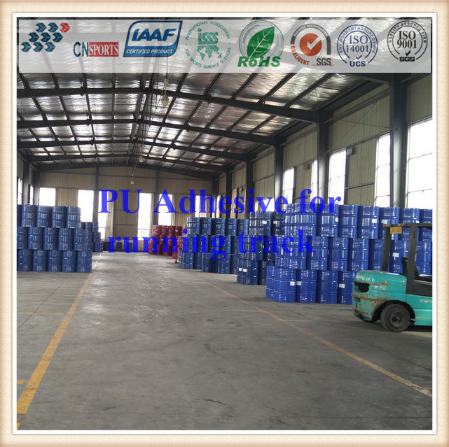Chinese Supplier Polyurethane PU Glue Adhesive for Rubber Running Track