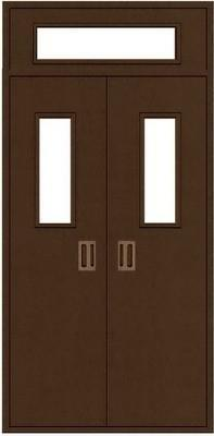 Fire Rating Safety Solid Wood Fire Door with Certificate