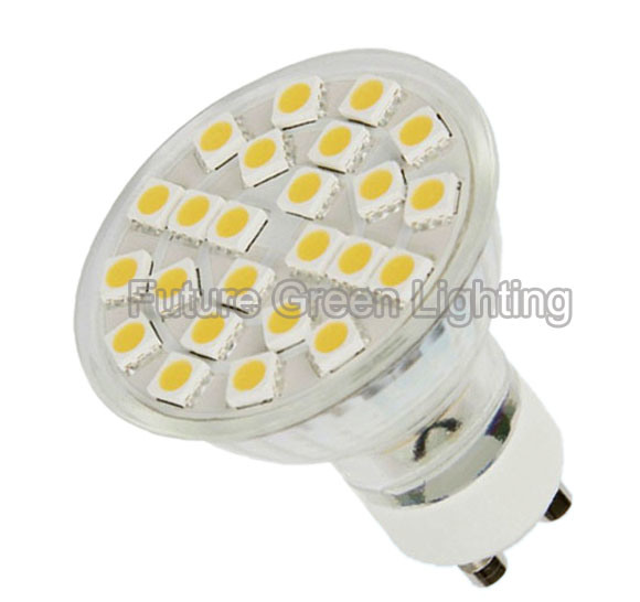SMD 5050 GU10 LED Spotlights AC220V