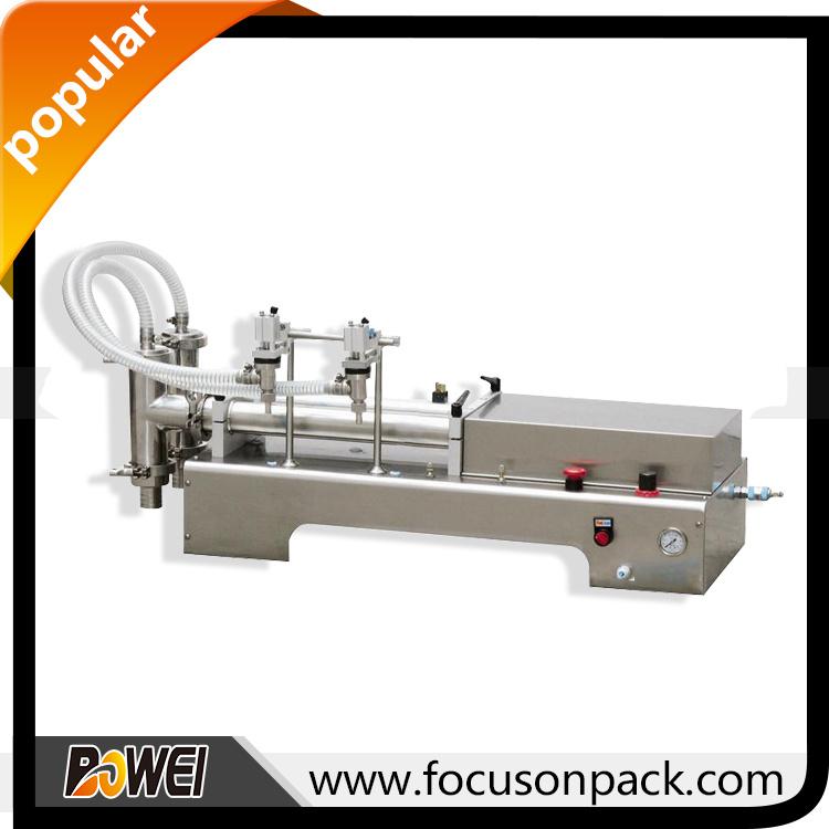 Semi Automatic Table Top Check Valve Liquid Machine