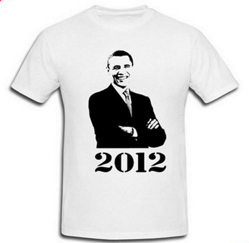 100% Polyester Customized Printed Presidential Vote 100g Promotional Election T Shirts