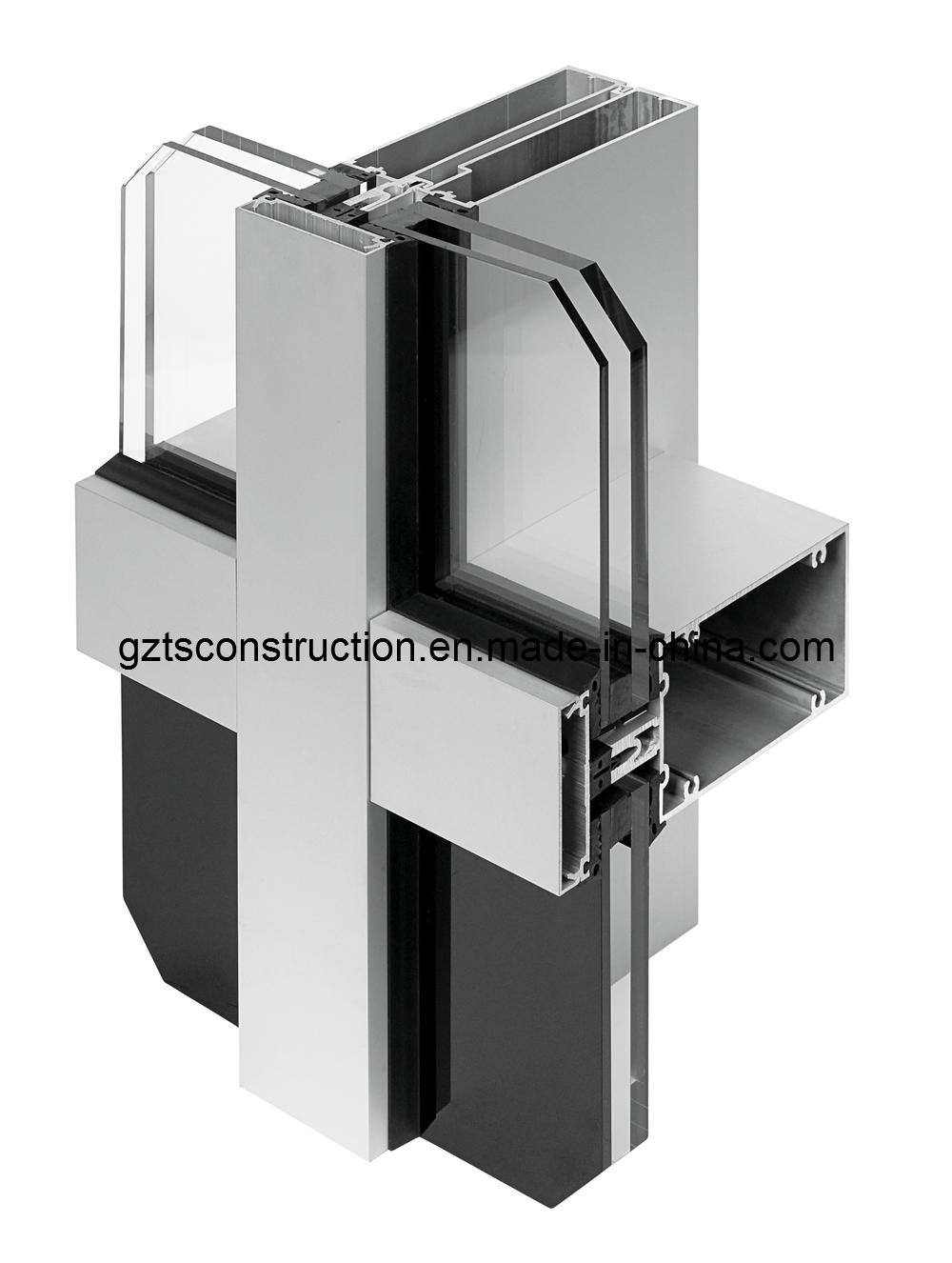 China Glass Stone Glass Curtain Wall System Photos Pictures Made In