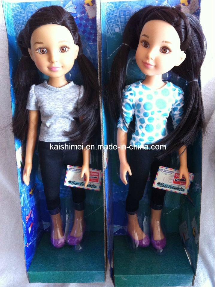 18 Inch Plastic Girl Doll Gift Vfv Toys