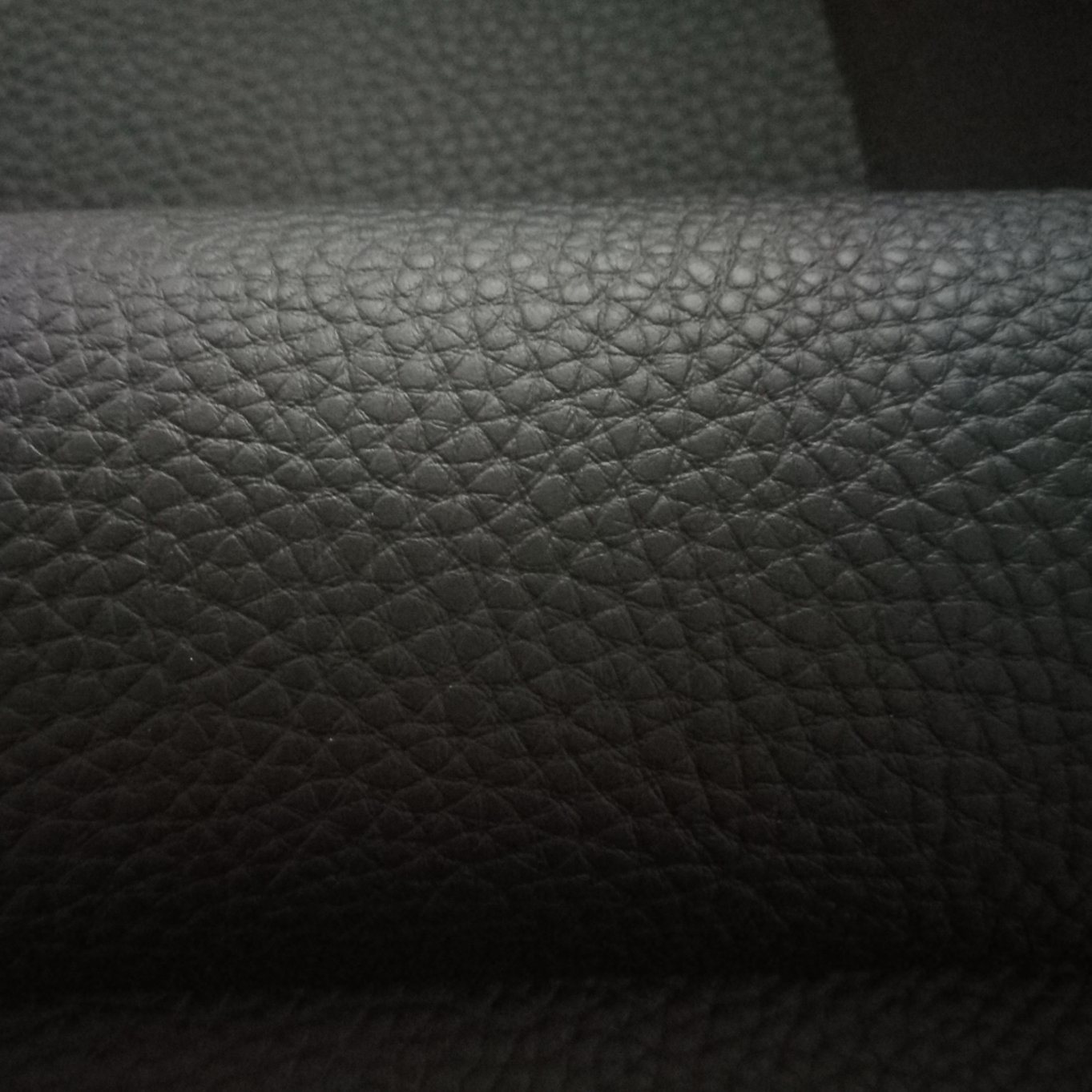 SGS Gold Certificationlarge Litchi Lines Knitted Bottom Cloth, Artificial Leather, PVC Leather