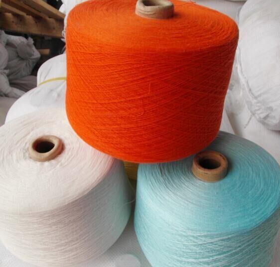 Coloured Polyester Yarn Ring Spun