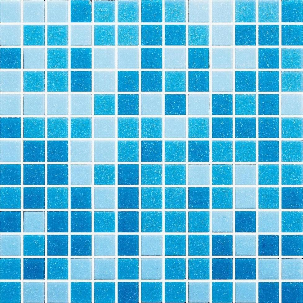 Beaumont Pool Tiles Glass Blue Green