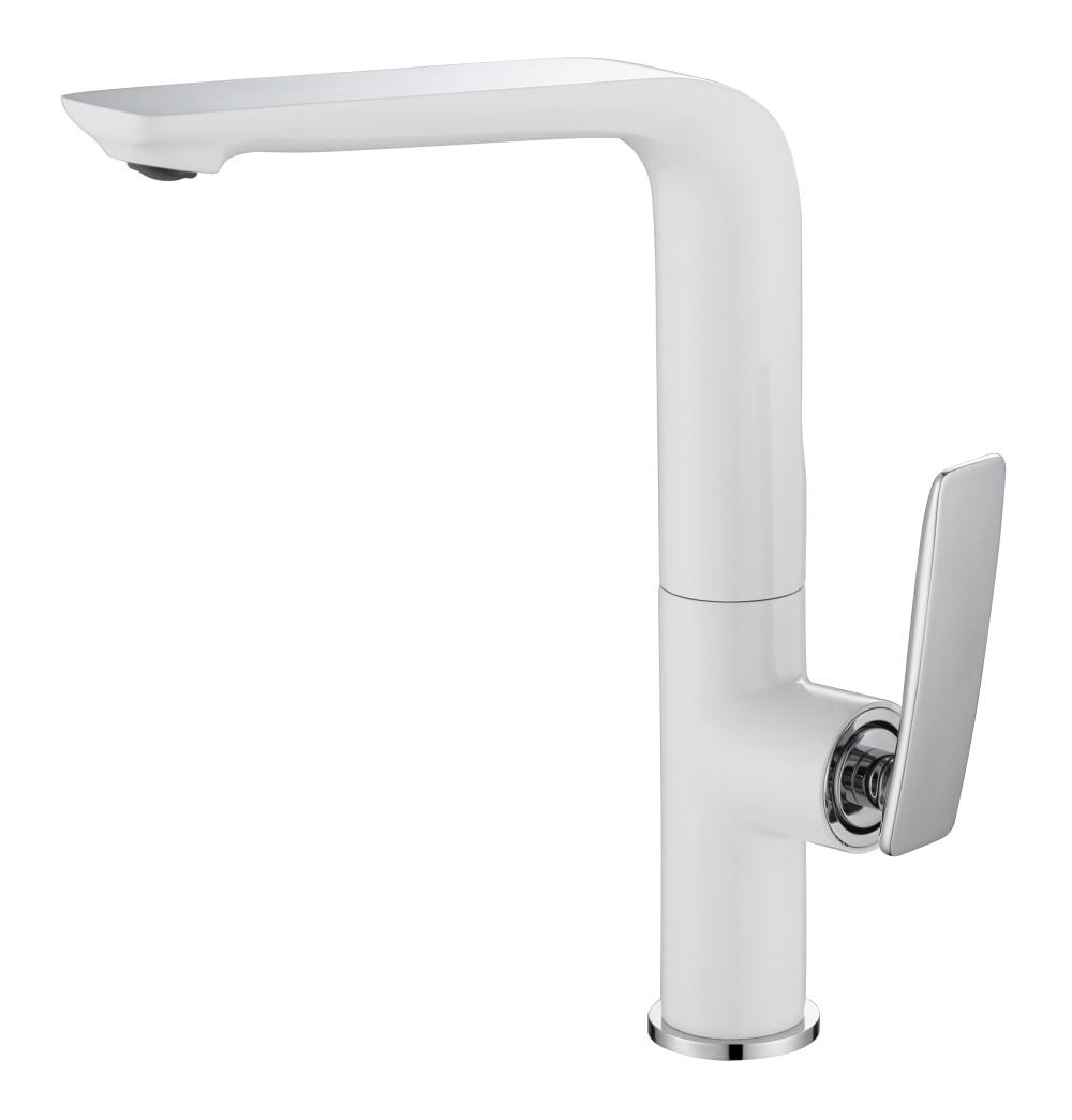 Modern Single Lever Swivel Kitchen Sink Water Faucet