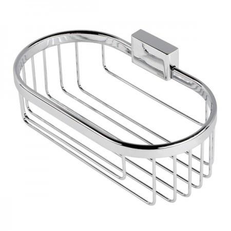 Brass Bathroom Basket Shampoo Holder Soap Holder Shower Gel Holder