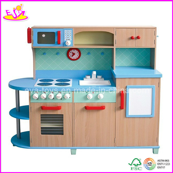 China 2014 Hot Sale High Quality Wooden Kids Set Kitchen New And Popular Toys Kids Set Kitchen