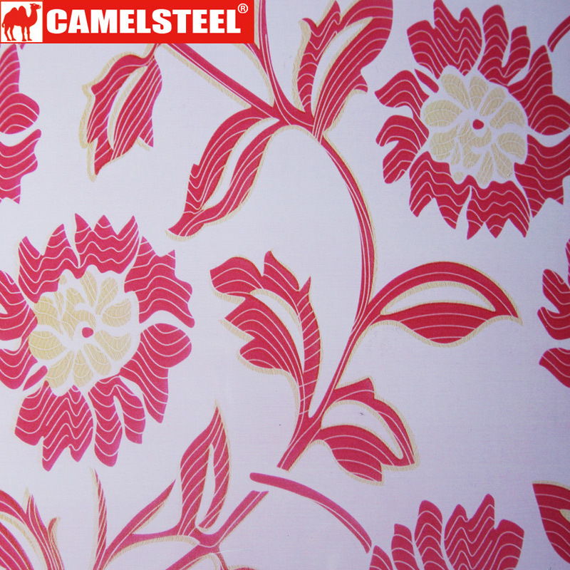 Decoration Pattern Design PPGI Steel Sheet