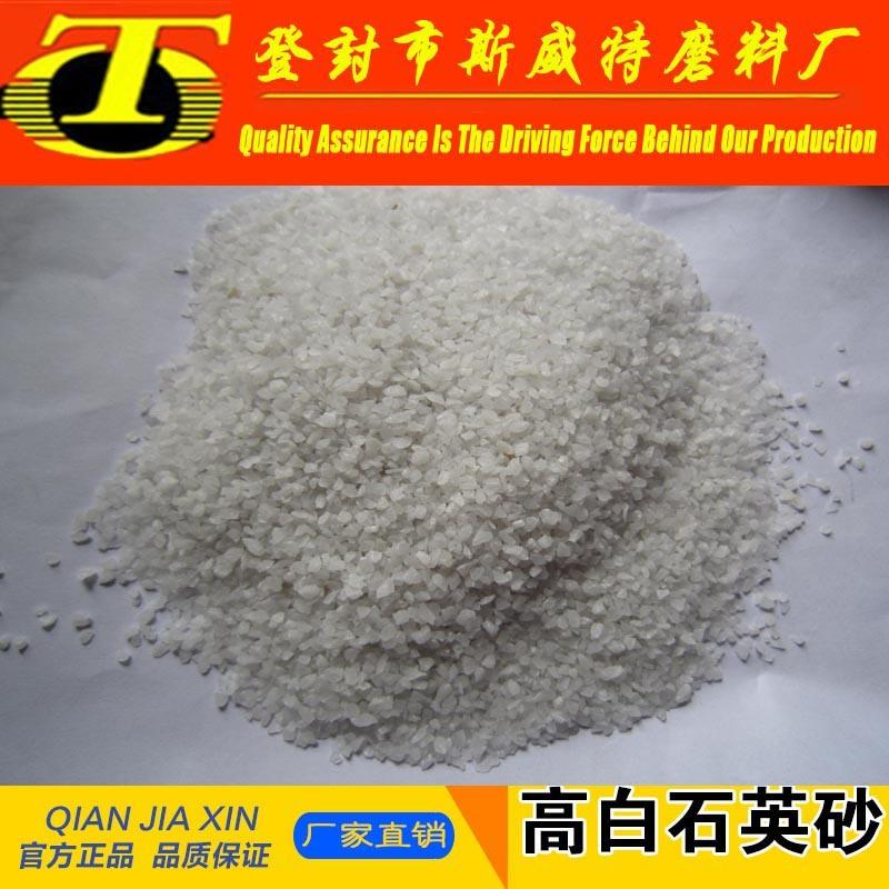 High Purity 10-120mesh Sio2 99.94% Silica Sand/Quartz Sand