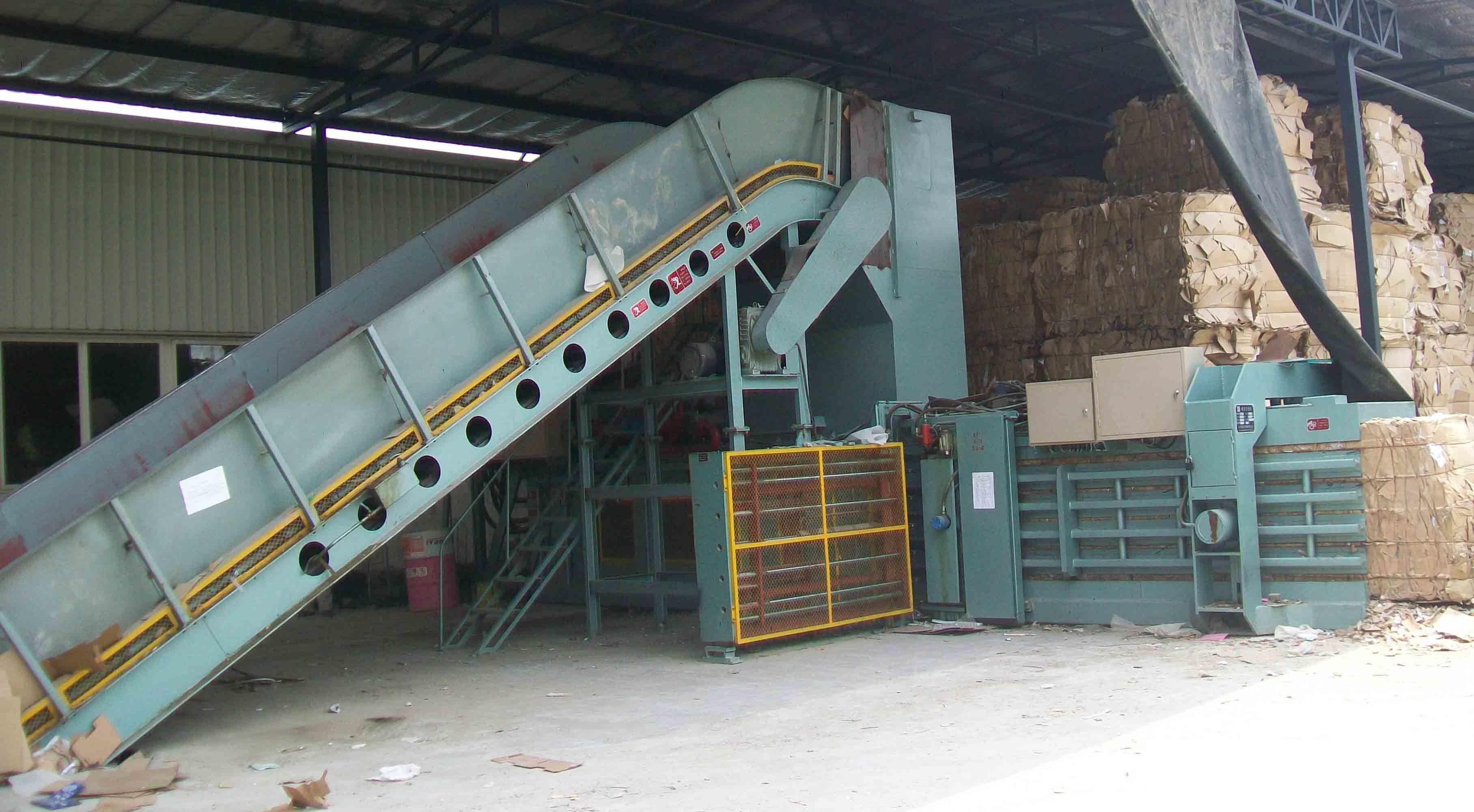 Automatic Waste Paper Baling Machine Carton Baler