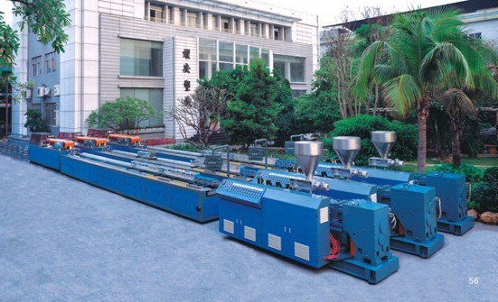PVC Profile &Foam Profile Extrusion Product Line