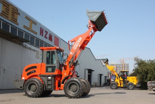 Hzm930 Pay Loader and Shovel Wheel Loader for Sale