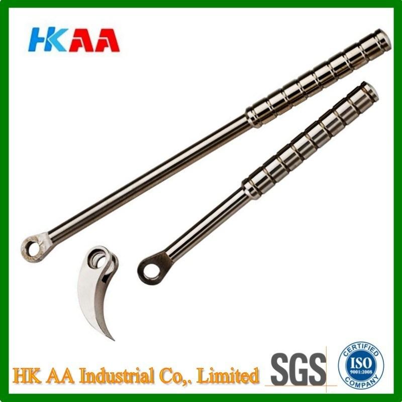 CNC Swiss Machining Steel / Aluminum Pry Bar Tool