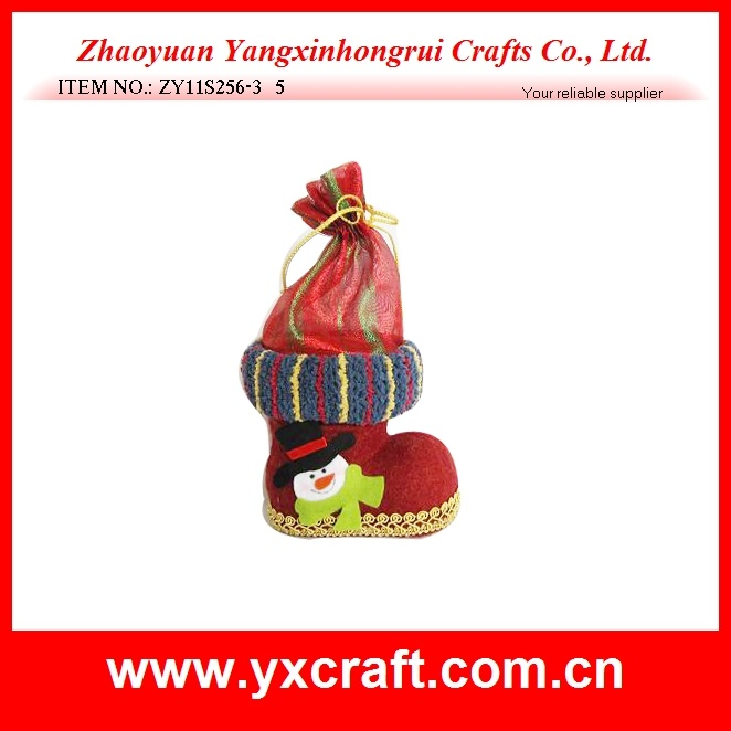 Christmas Decoration (ZY11S256-3) Christmas Edition Gift Shoe