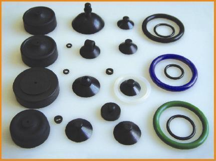 Custom Compression Mold Rubber Product