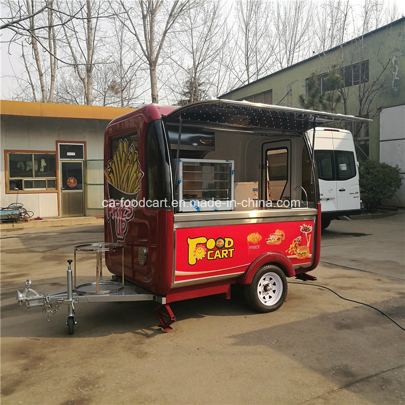 Made in China Mobile Hot Dog Trailer