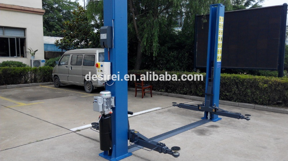 3.5t Garage Equipment Two Post Auto Lift Hydraulic Car Hoist