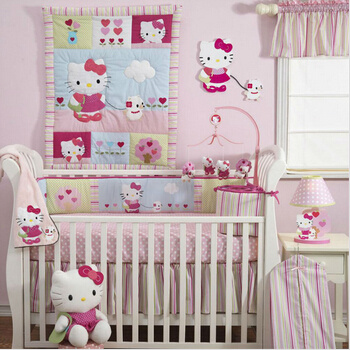 Hello Kitty Design for Baby Bedding Set (baby 003)