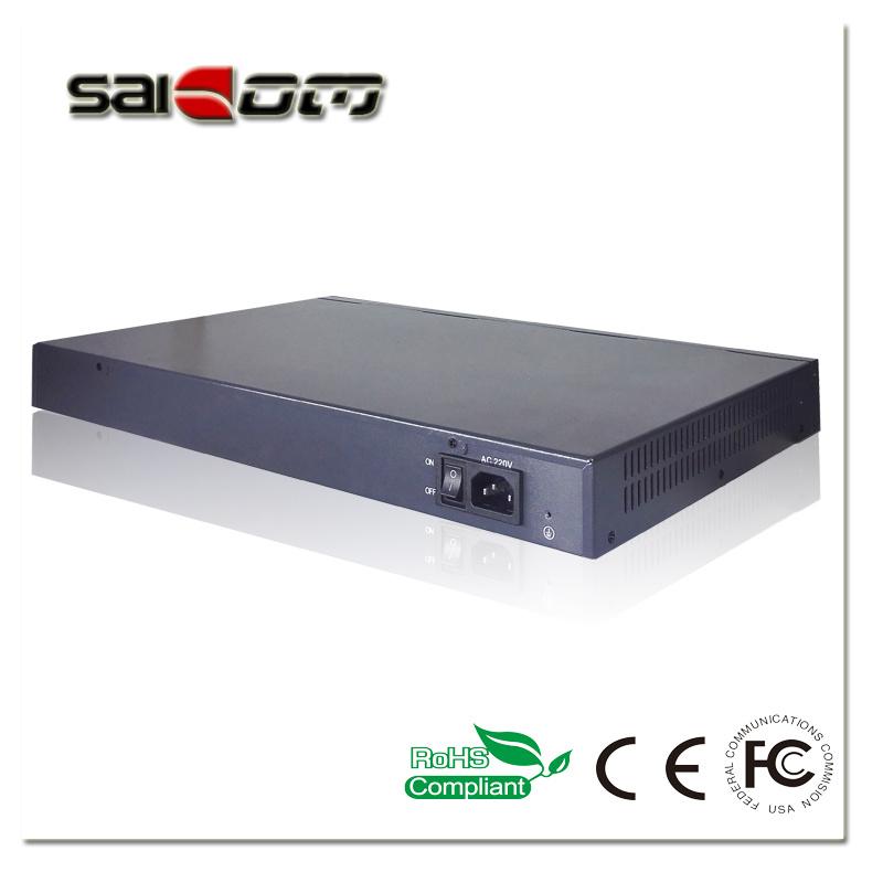 1000Mbps 15.4W 2GX+ 16 PoE Ports Ethernet Network POE Switch