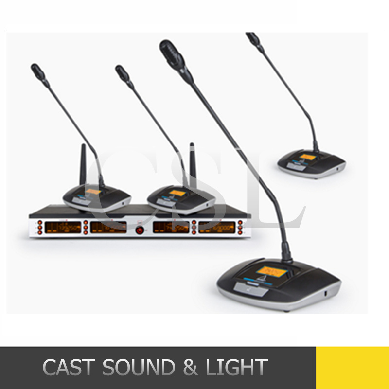 Conference Room Sound System UHF Wireless Conference Microphone Professional