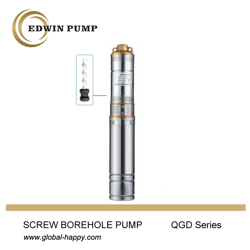 Screw Borhole Submersible Water Pump