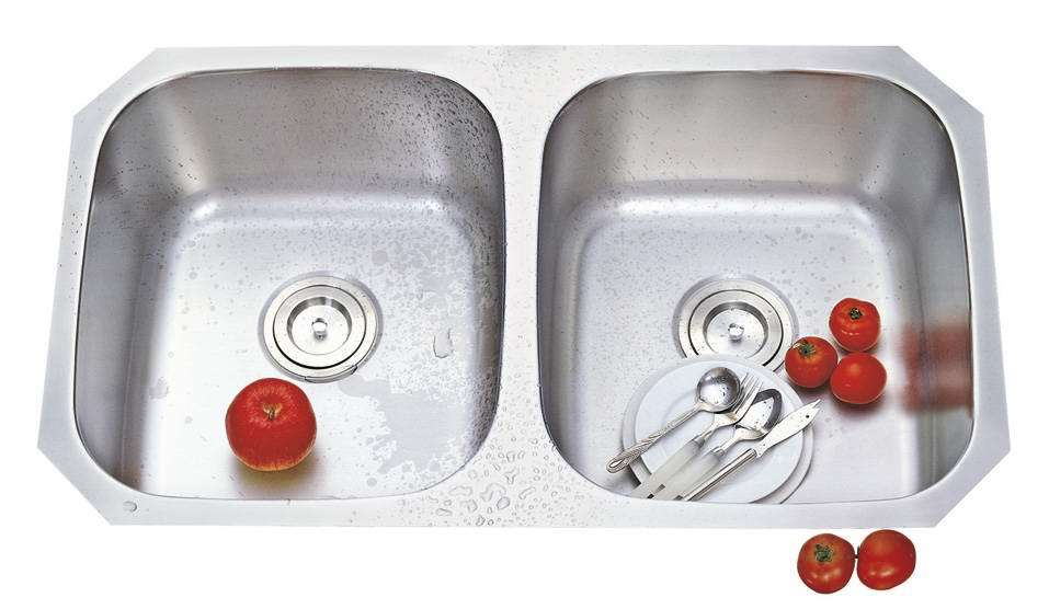 Undermount Double Bowl Kitchen Sink : Double Bowl Kitchen Sink (OT-8247A) - China Undermount Kitchen Sink ...