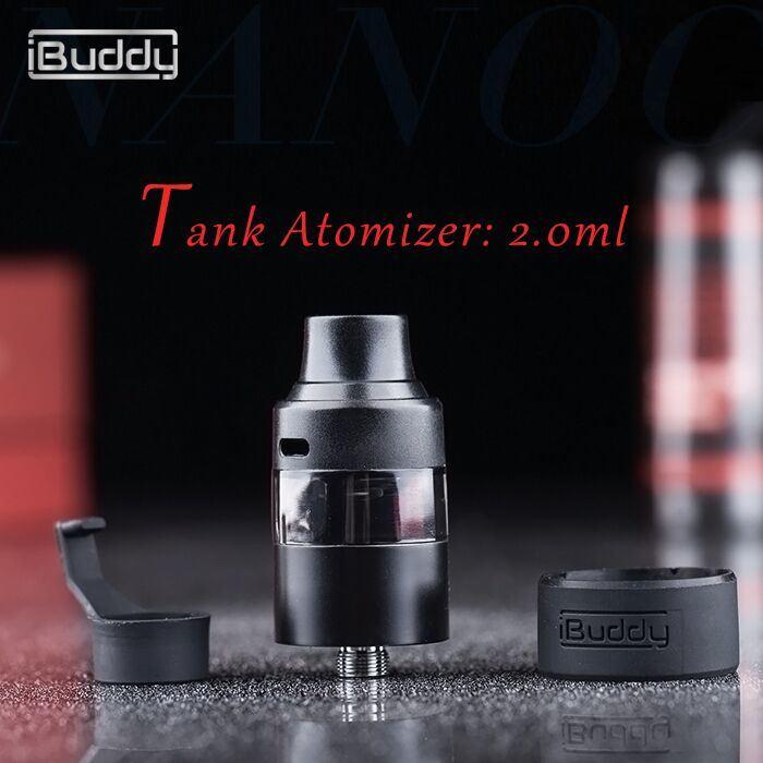 USA Hot Sale Bud Plus 55W Sub-Ohm 2.0ml Big Vapor Vaporizer Mechanical Mod
