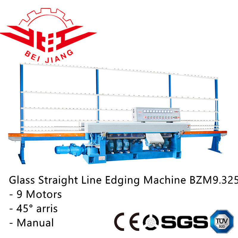 9 Spindles. 45degree Aries Glass Polishing Machine (Bzm9.325)
