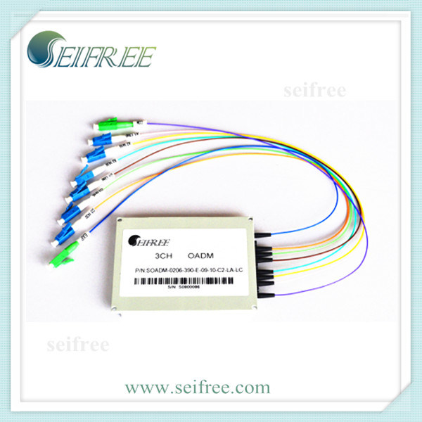 3 Channel OADM Optical Add/Drop Multiplexer for FTTH CATV